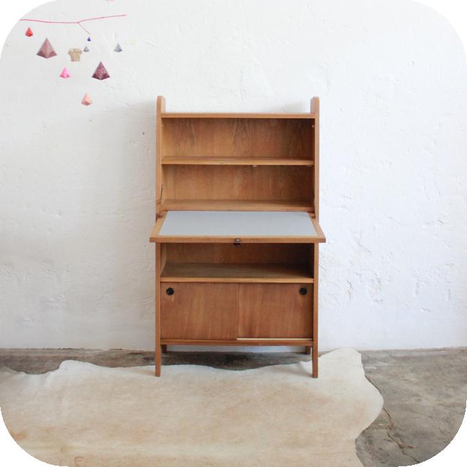 d428 mobilier vintage secretaire vintage ann es 50 aa atelier du petit parc. Black Bedroom Furniture Sets. Home Design Ideas