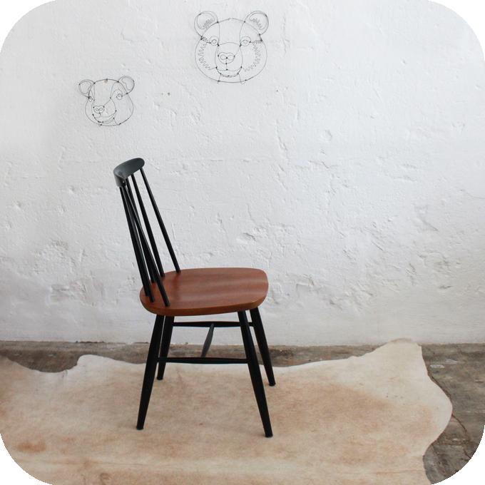 chaise tapiovaara scandinave vintage atelier du petit parc. Black Bedroom Furniture Sets. Home Design Ideas