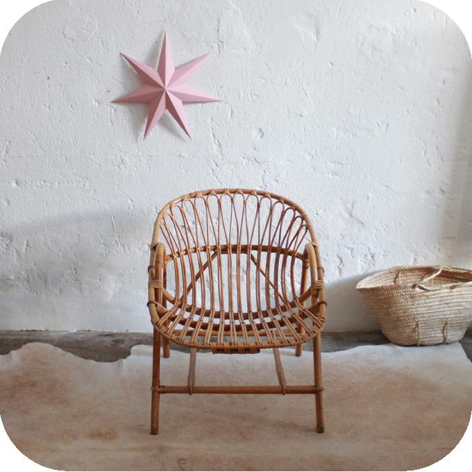 Fauteuil rotin vintage atelier du petit parc - Meuble vintage nantes ...