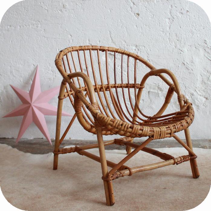 fauteuil enfant ancien en rotin atelier du petit parc. Black Bedroom Furniture Sets. Home Design Ideas