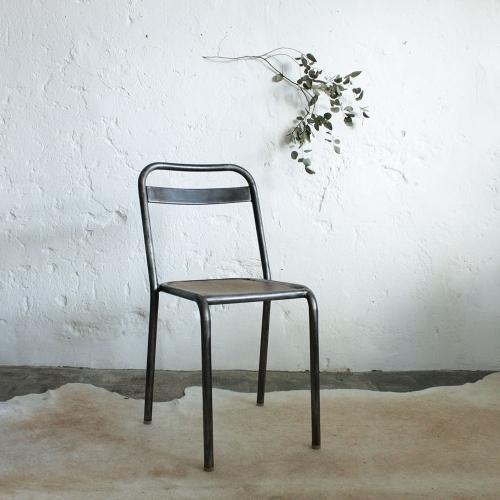 chaise vintage style tolix f382 atelier du petit parc. Black Bedroom Furniture Sets. Home Design Ideas