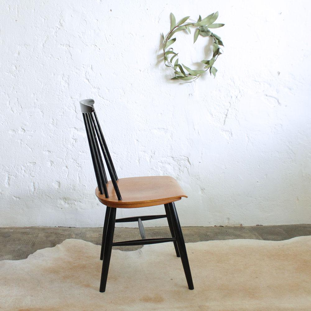 chaise style tapiovaara vintage f433 atelier du petit parc. Black Bedroom Furniture Sets. Home Design Ideas