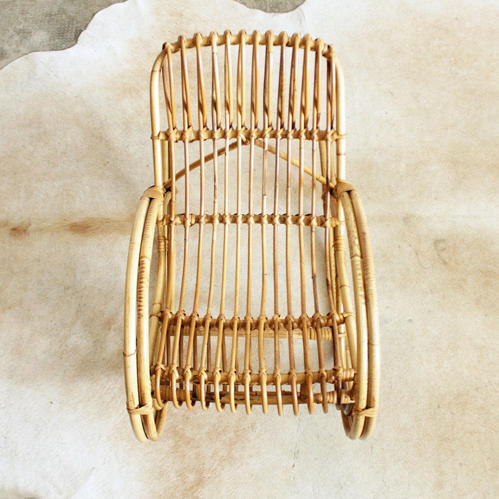 rocking chair enfant mobilier vintage atelier du petit parc. Black Bedroom Furniture Sets. Home Design Ideas