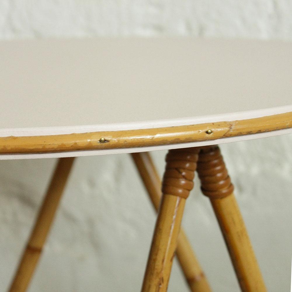 Mobilier En Rotin Table Basse Atelier Du Petit Parc
