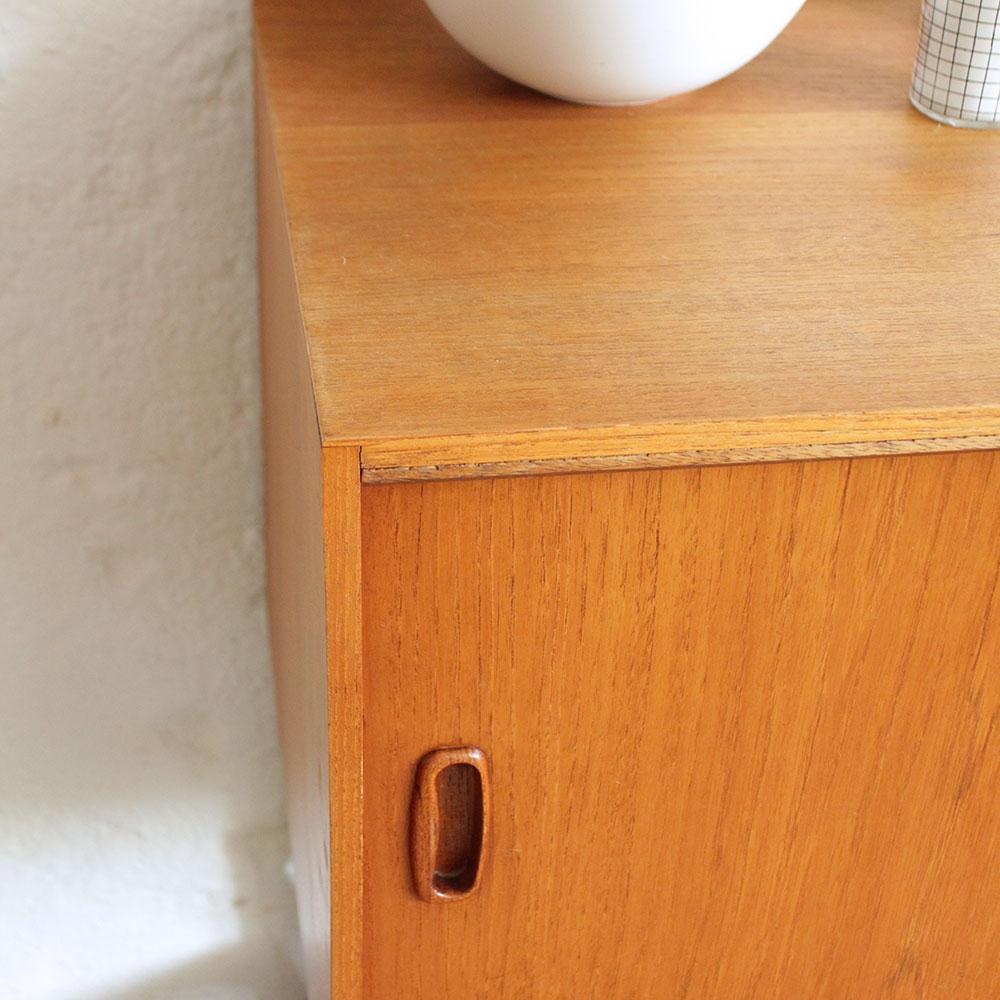 retro vintage teak record cabinet atelier du petit parc. Black Bedroom Furniture Sets. Home Design Ideas