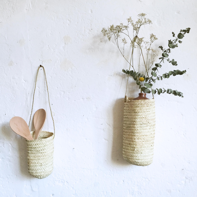 corbeille en palmier suspendre atelier du petit parc. Black Bedroom Furniture Sets. Home Design Ideas