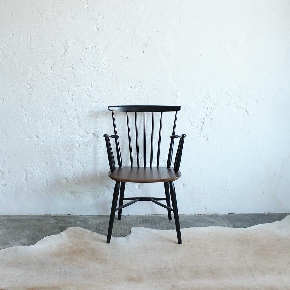 Chaise vintage style ilmari tapiovaara atelier du petit parc - Petit fauteuil vintage ...