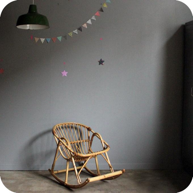 rocking chair rotin 39 50 enfant atelier du petit parc. Black Bedroom Furniture Sets. Home Design Ideas