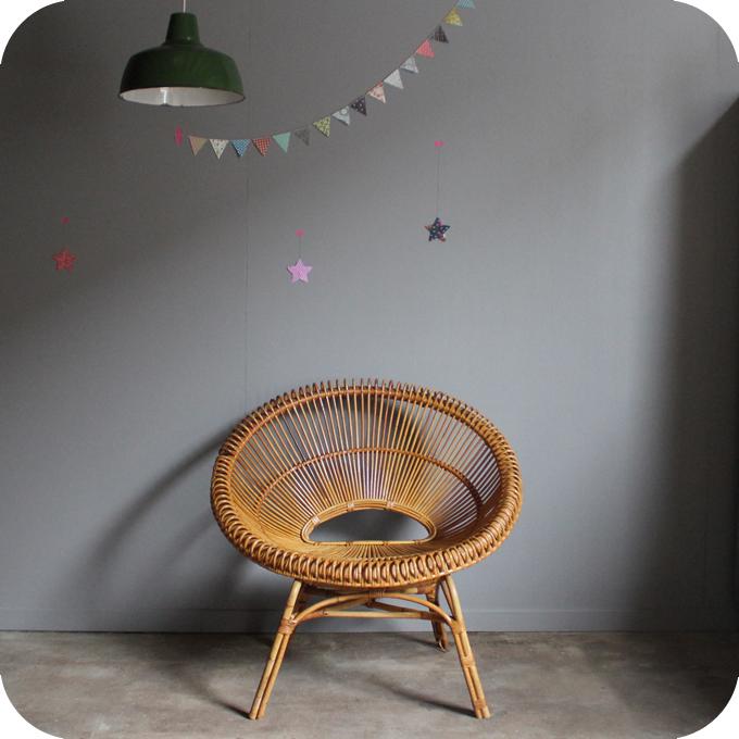 fauteuil rotin forme soleil 39 50 janine abraham atelier du petit parc. Black Bedroom Furniture Sets. Home Design Ideas