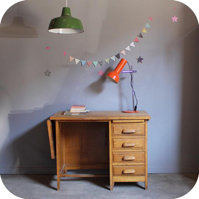 bureau vintage comptable b203 atelier du petit parc. Black Bedroom Furniture Sets. Home Design Ideas