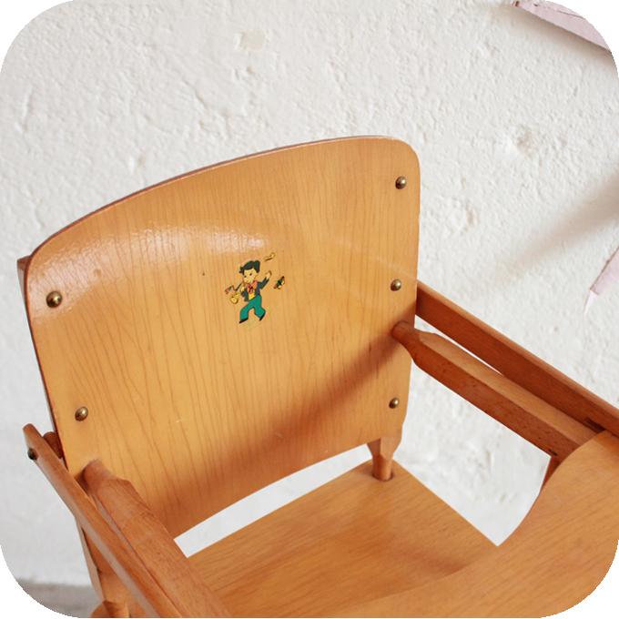 j307 chaise haute poupee vintage g atelier du petit parc. Black Bedroom Furniture Sets. Home Design Ideas