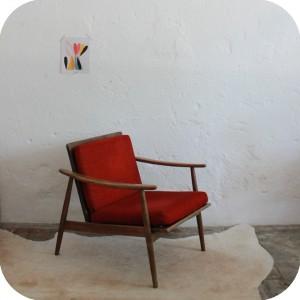 c668_mobilier vintage fauteuil scandinave vintage b - Fauteuil Scandinave Vintage