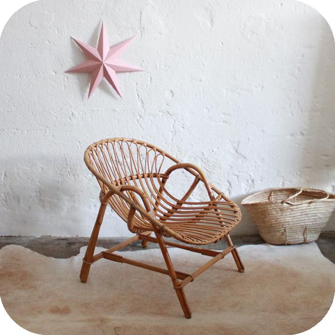 d602 fauteuil vintage rotin meuble vintage nantes b atelier du petit parc. Black Bedroom Furniture Sets. Home Design Ideas