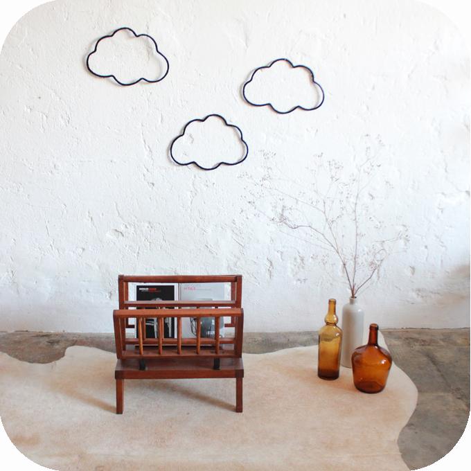 porte revues scandinave teck vintage atelier du petit parc. Black Bedroom Furniture Sets. Home Design Ideas