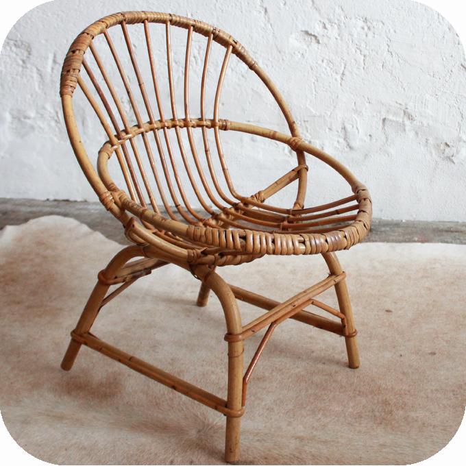 d651 fauteuil enfant vintage rotin f atelier du petit parc. Black Bedroom Furniture Sets. Home Design Ideas