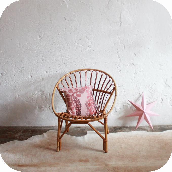fauteuil rotin vintage ann es 50 nantes atelier du petit. Black Bedroom Furniture Sets. Home Design Ideas