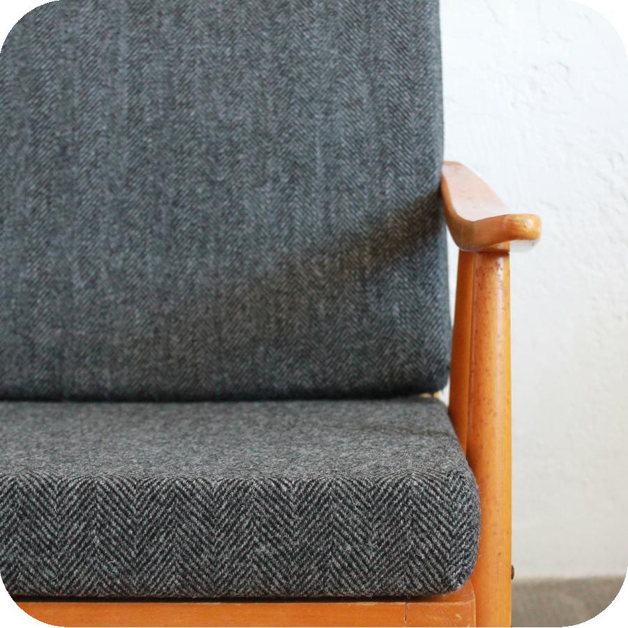 e389 fauteuil scandinave vintage thonet e atelier du petit parc. Black Bedroom Furniture Sets. Home Design Ideas