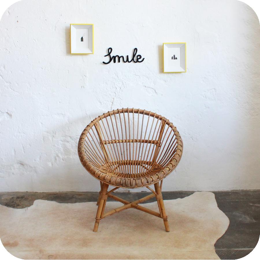 fauteuil rotin forme soleil atelier du petit parc. Black Bedroom Furniture Sets. Home Design Ideas