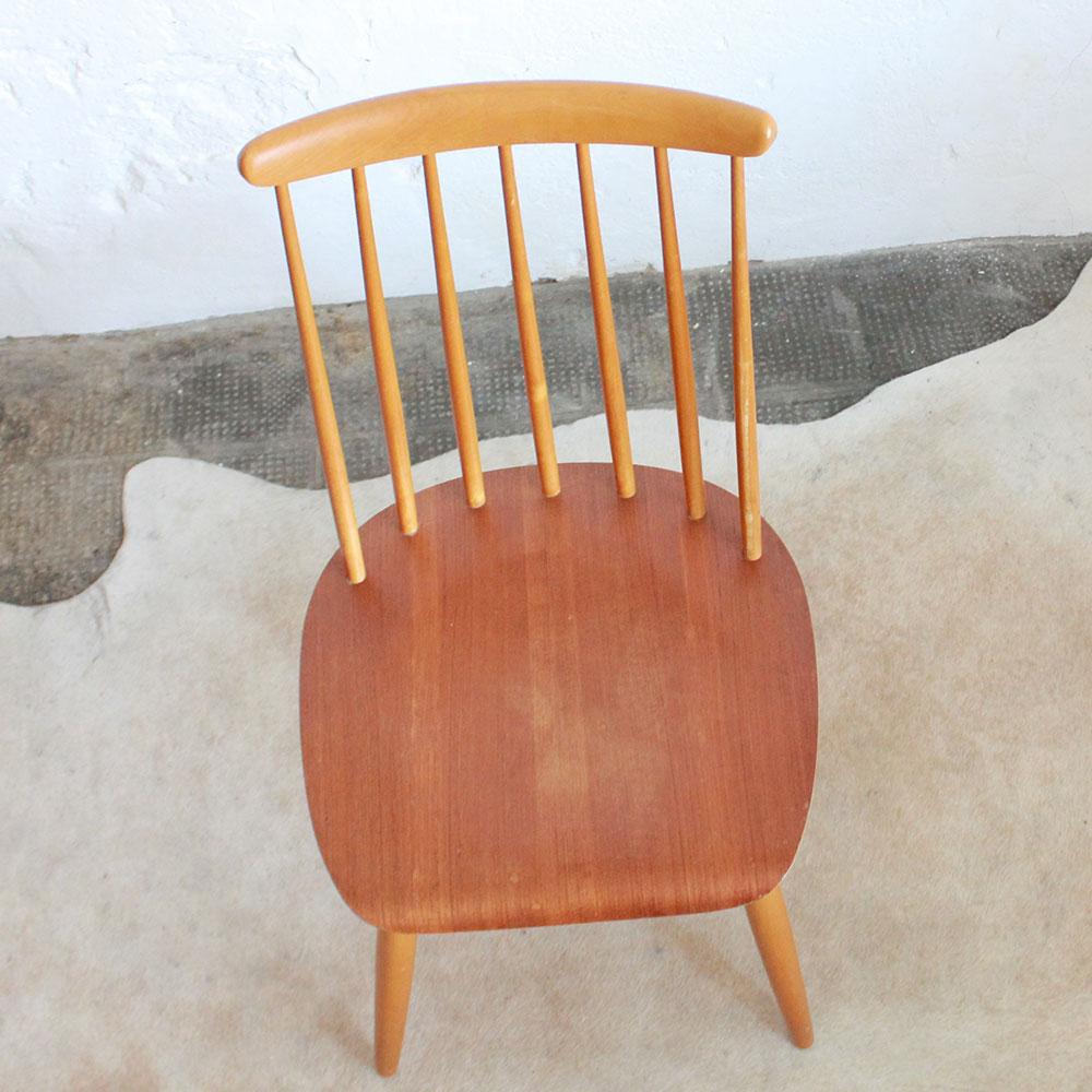 e549 chaise scandinave vintage tapiovaara d atelier du petit parc. Black Bedroom Furniture Sets. Home Design Ideas