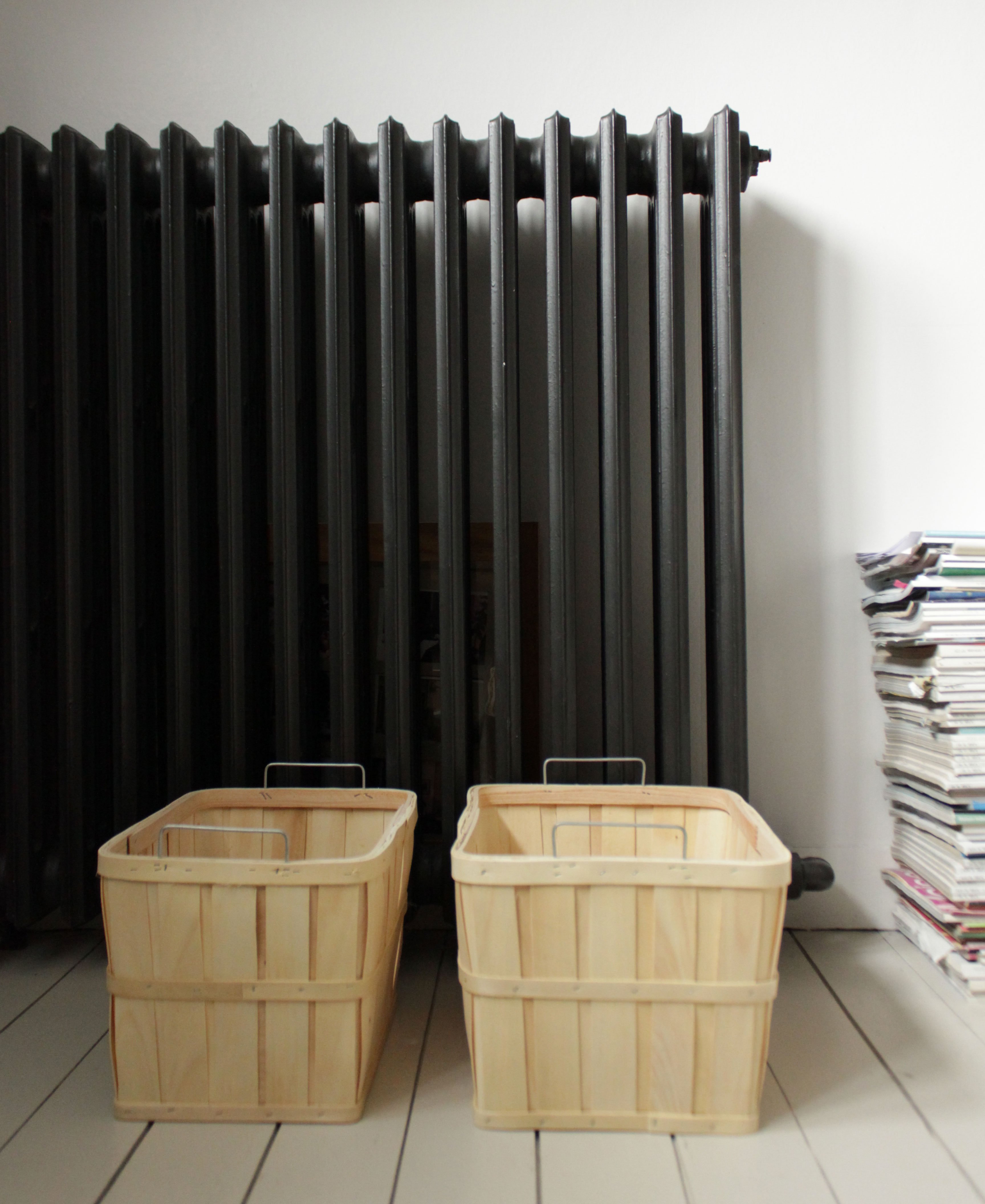 panier bois bouleau scandinave house doctor fu0515 a. Black Bedroom Furniture Sets. Home Design Ideas