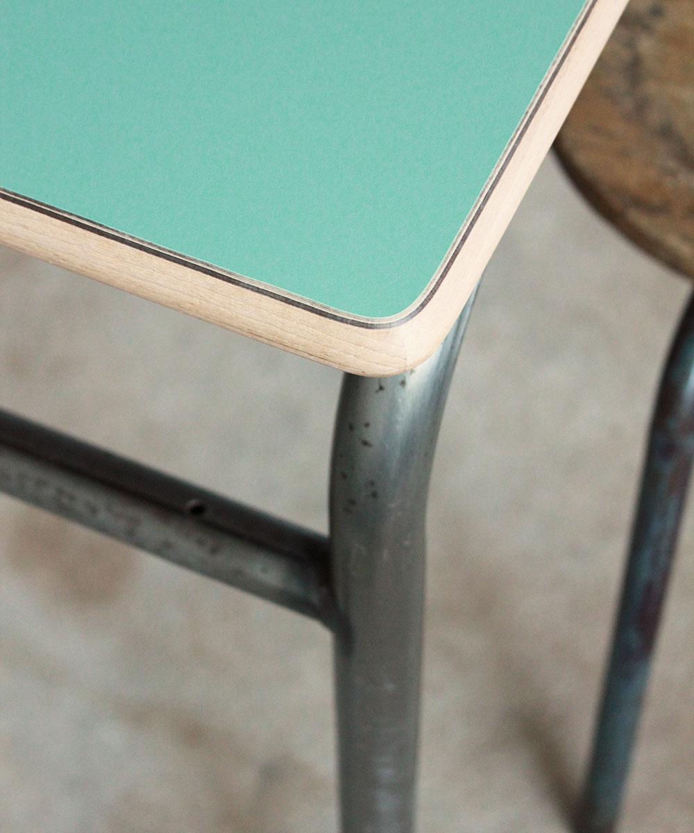 bureau ecole table console vintage e660 a atelier du petit parc. Black Bedroom Furniture Sets. Home Design Ideas