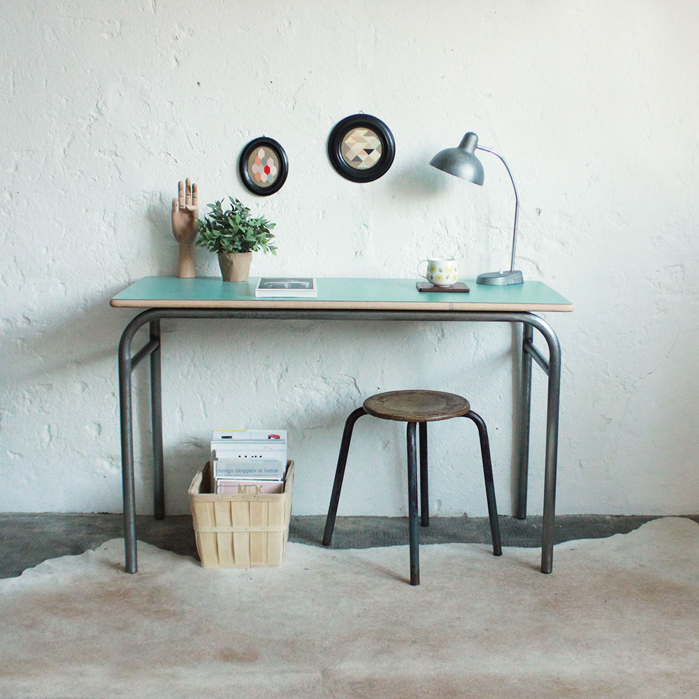 Bureau-ecole-table-console-vintage-E660_aa