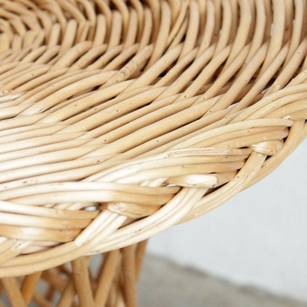 table basse osier diabolo vintage f301 c atelier du. Black Bedroom Furniture Sets. Home Design Ideas