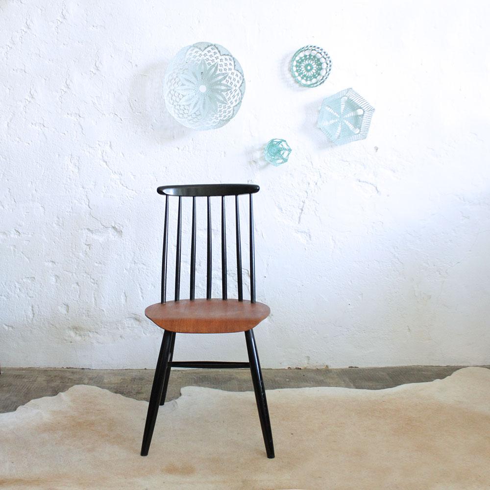 Chaise style ilmari tapiovaara vintage atelier du petit parc for Chaise style atelier