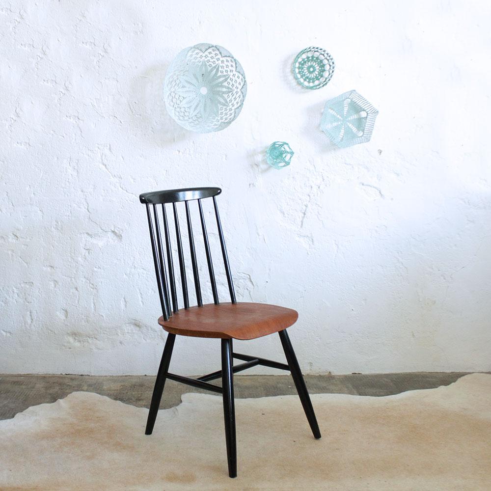chaise tapiovaara style vintage f445 b atelier du petit parc. Black Bedroom Furniture Sets. Home Design Ideas