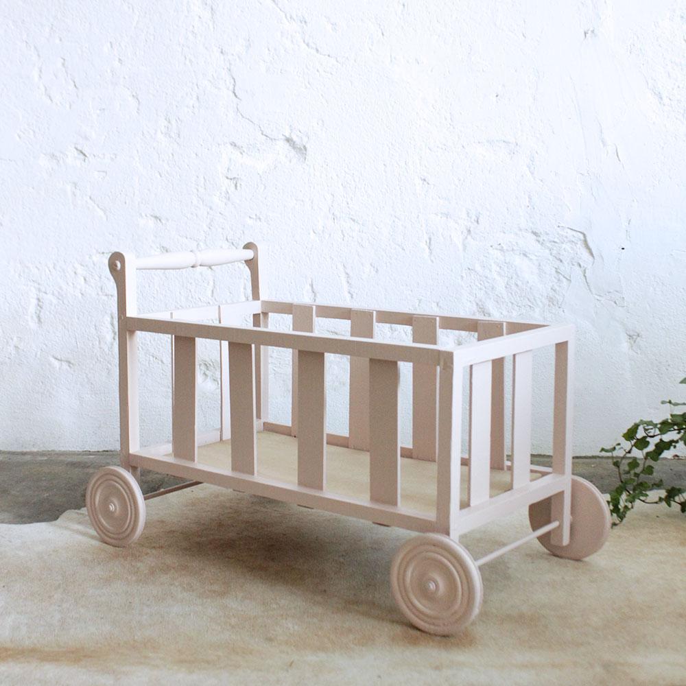 lit poup e bois vintage j349 atelier du petit parc. Black Bedroom Furniture Sets. Home Design Ideas