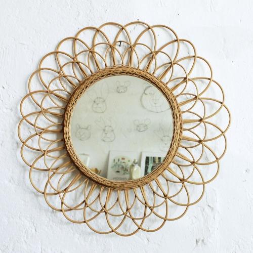 Miroir-rotin-vintage-fleur-F464_d