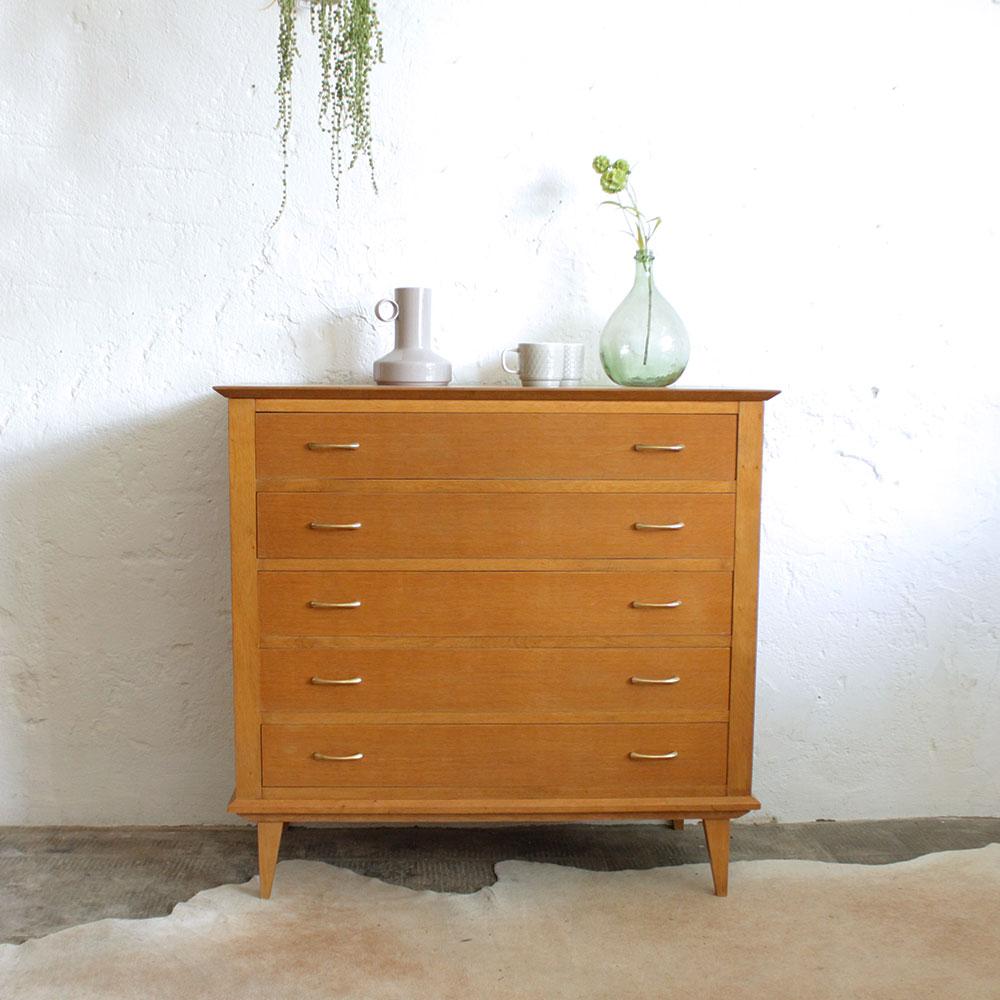 Commode Vintage Chene D269 Atelier Du Petit Parc