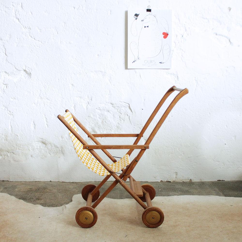 poussette vintage dejou atelier du petit parc. Black Bedroom Furniture Sets. Home Design Ideas