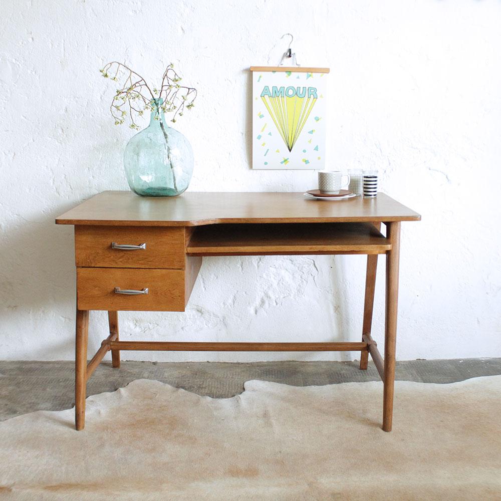 Bureau Vintage Jacques Hitier Atelier Du Petit Parc