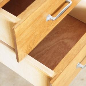 bureau vintage chene clair f344 f atelier du petit parc. Black Bedroom Furniture Sets. Home Design Ideas