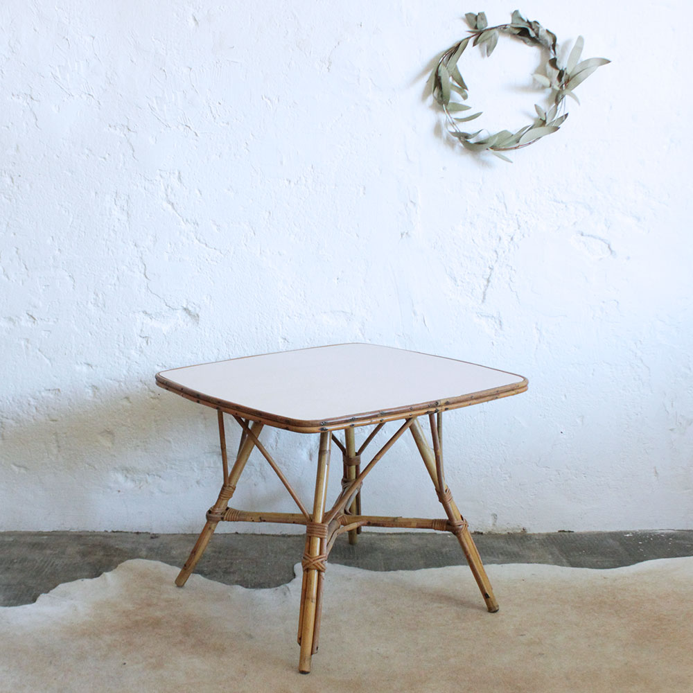 Table Basse Rotin Fashion Designs # Table Basse Ronde Hippie