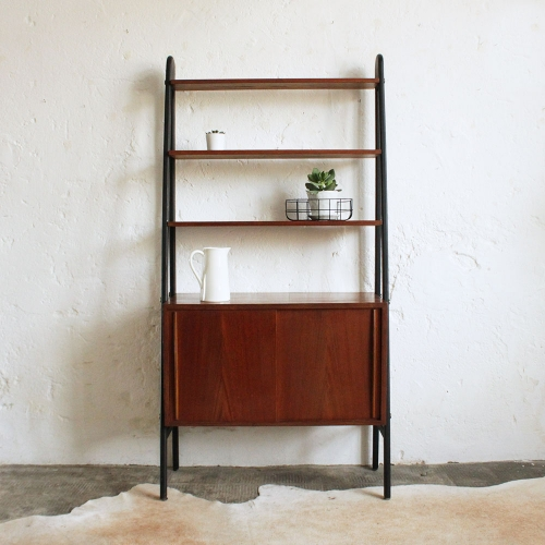 Bibliotheque-teck-vintage-scandinave-suedoise-G202_a