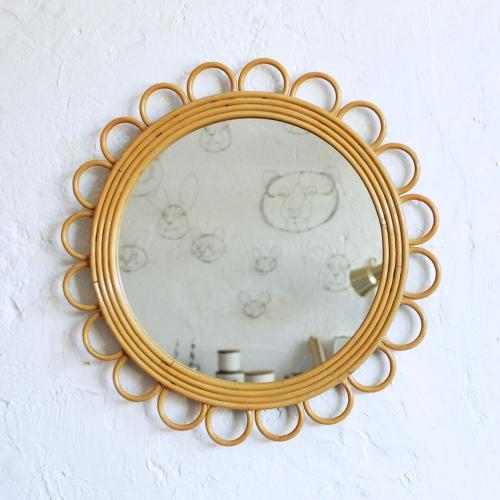 Miroir-rotin-retro-fleur-F563_a