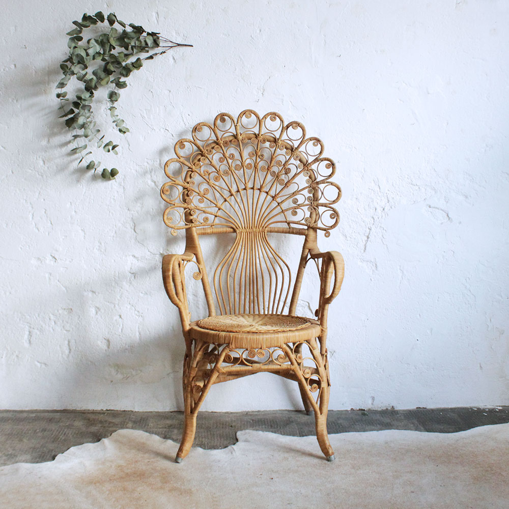fauteuil en rotin vintage vintage rattan wicker chair fauteuil en rotin vintage fauteuil en. Black Bedroom Furniture Sets. Home Design Ideas