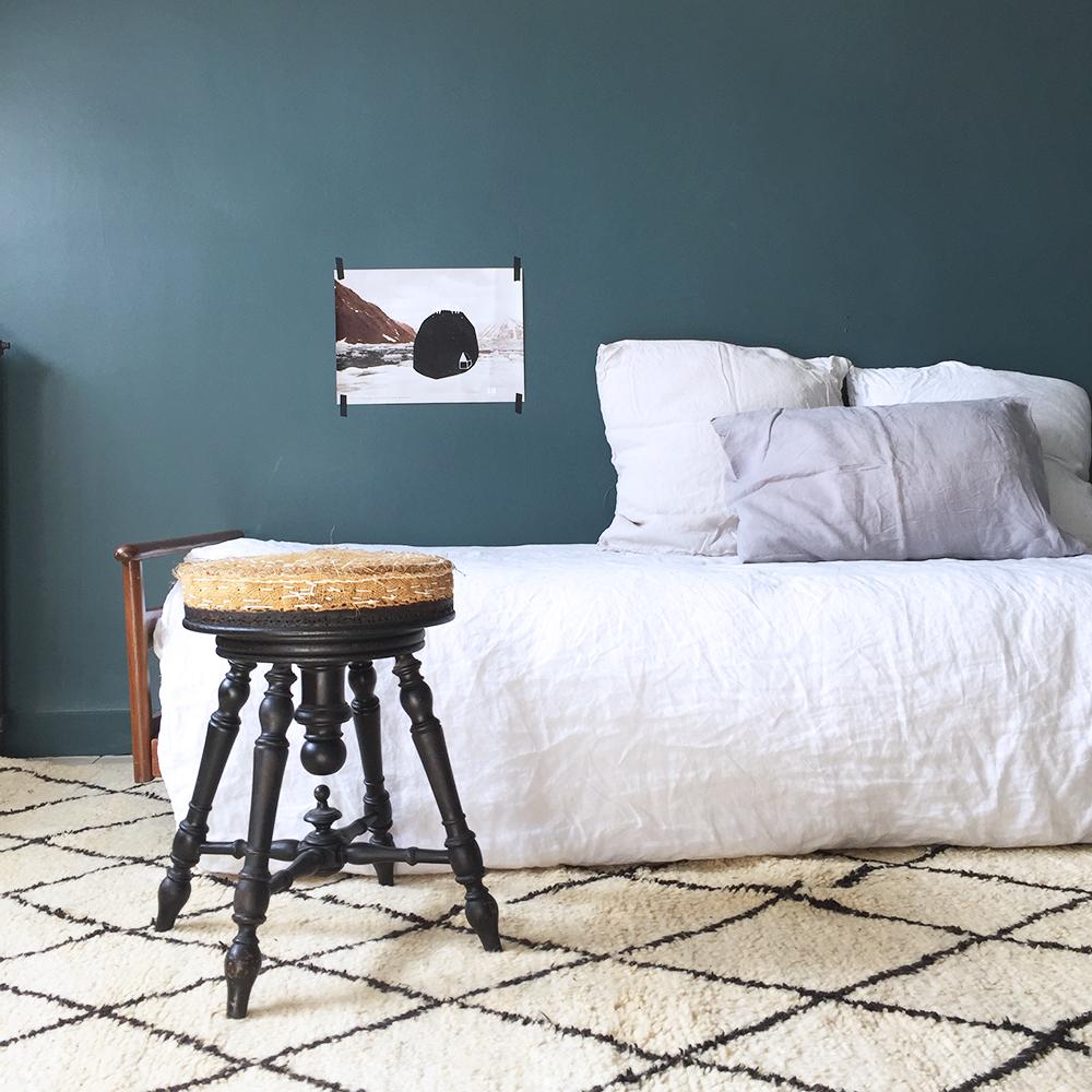 tapis beni ouarain marocain atelier du petit parc. Black Bedroom Furniture Sets. Home Design Ideas