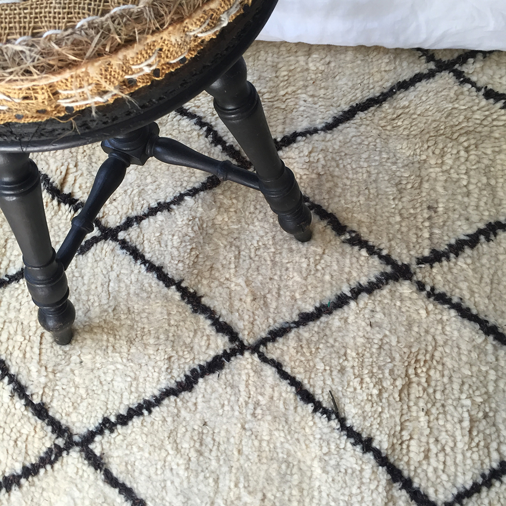 tapis beni ouarain marocain | atelier du petit parc