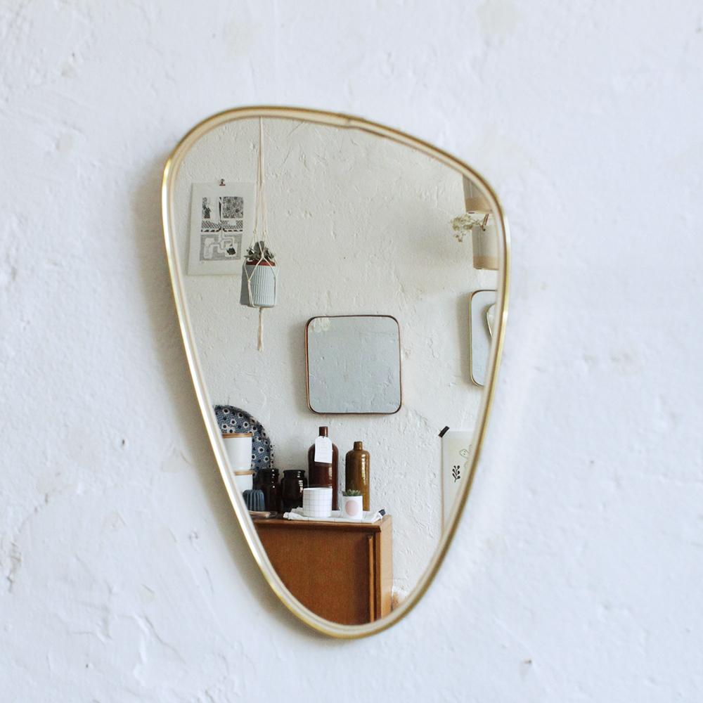 superbe miroir r troviseur vintage atelier du petit parc