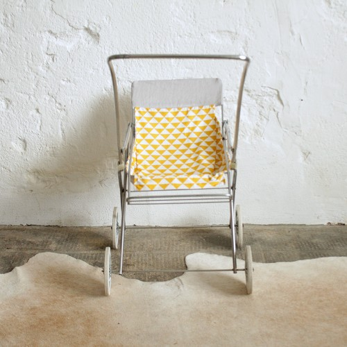 poussette chrome poup e vintage atelier du petit parc. Black Bedroom Furniture Sets. Home Design Ideas