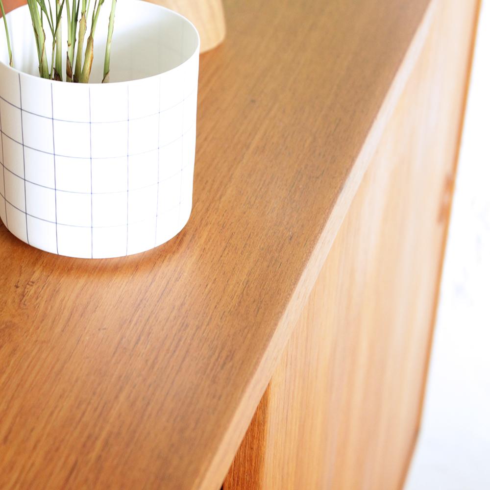 enfilade su doise vintage en teck atelier du petit parc. Black Bedroom Furniture Sets. Home Design Ideas