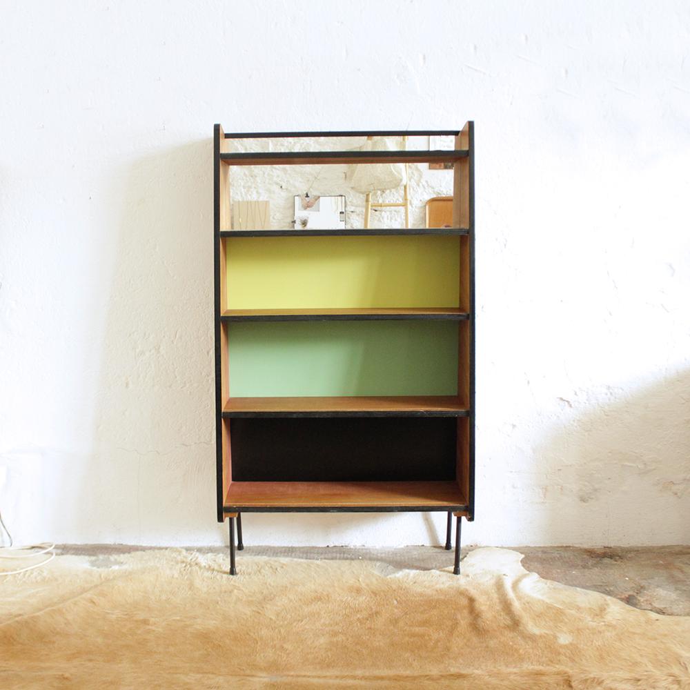 Biblioth que vintage guariche atelier du petit parc - Bibliotheque scandinave vintage ...