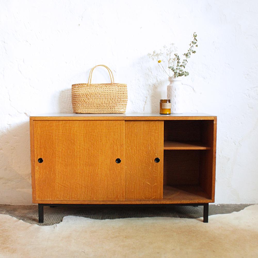Meuble scolaire portes coulissantes atelier du petit parc for Atelier du meuble
