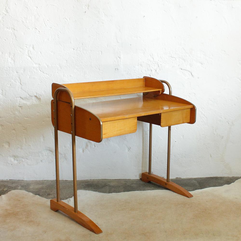 bureau vintage modulable vintage g501 d atelier du petit parc. Black Bedroom Furniture Sets. Home Design Ideas