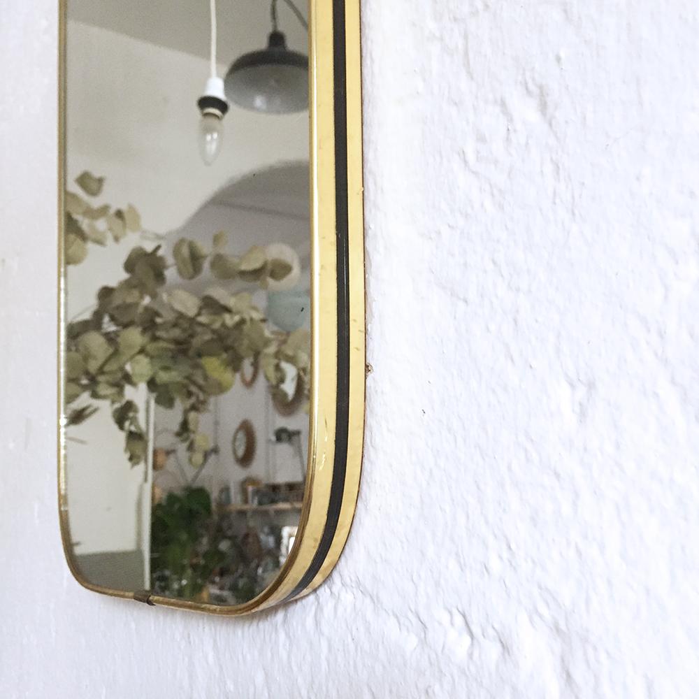 Miroir r troviseur vintage atelier du petit parc for Miroir petit