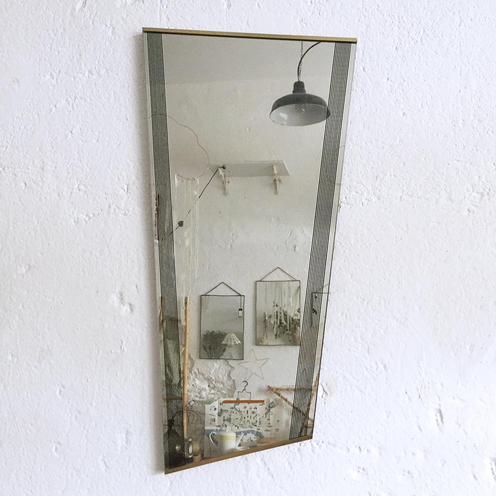 Miroir r troviseur vintage atelier du petit parc for Miroir antique
