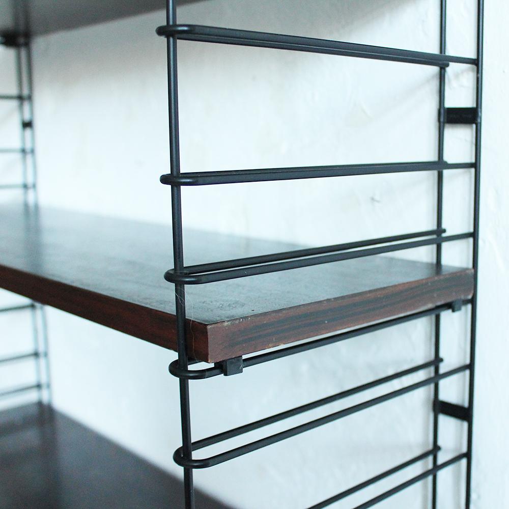 etagere atelier etagre dstructure niveaux en mtal noir xcm atelier with etagere atelier. Black Bedroom Furniture Sets. Home Design Ideas